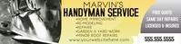 Handy Man Home Repair Service Banner Баннер 2 фута × 8 футов template