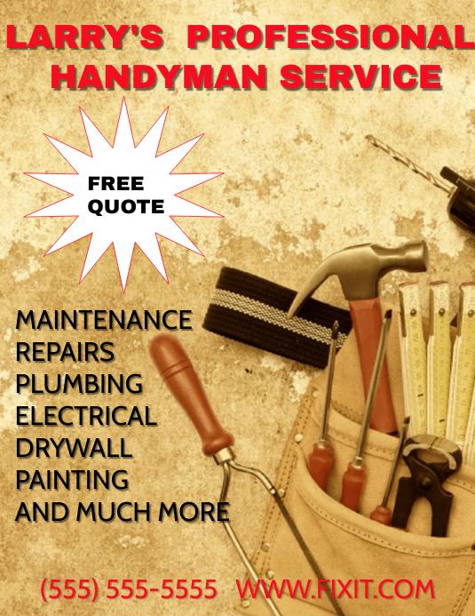 HANDY MAN small business service