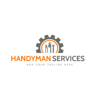 handyman and repairs trade tools icon logo te Logotipo template