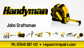 Handyman business card