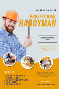 Handyman Flyer Template