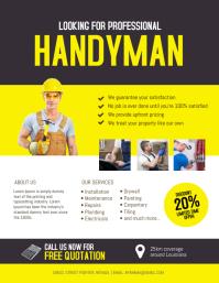 Handyman service Flyer Template