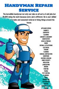 Handyman Service Repair Template