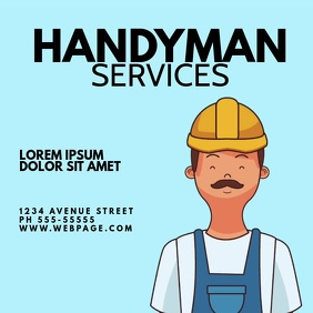 Handyman Service VIdeo Ad Design Instagram