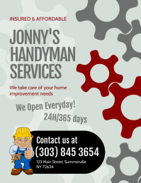Handyman Services Flyer