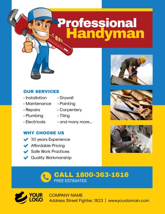 Handyman Services Flyer Promotion