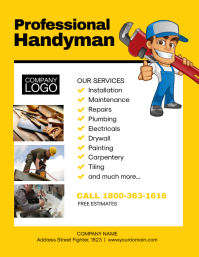 Handyman Services Flyer Promotion