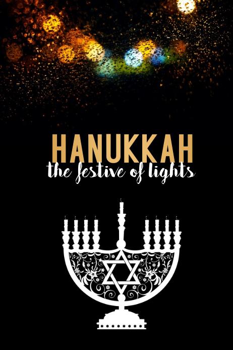 hanukkah, shabbat, hanukah, chanukha, kwanzaa Poster template