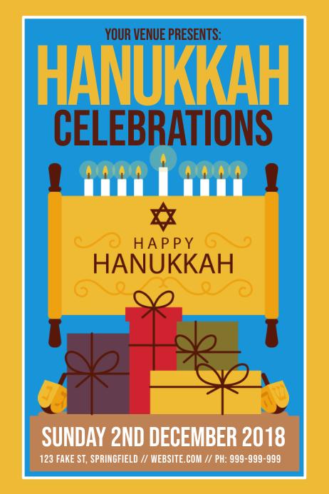 Hanukkah Celebration Poster