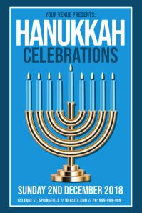 Hanukkah Celebrations Poster