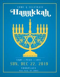 hanukkah, shabbat, hanukah, chanukha, kwanzaa design template