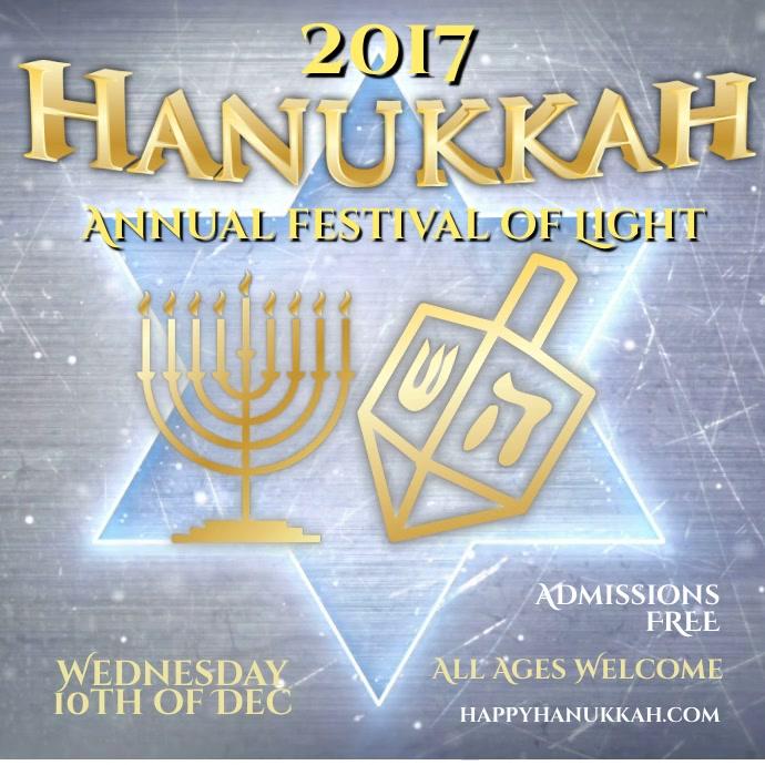 Hanukkah Festival Instagram