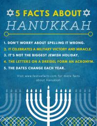Hanukkah Principles Flyer Template