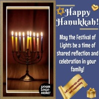 Hanukkah3 สี่เหลี่ยมจัตุรัส (1:1) template