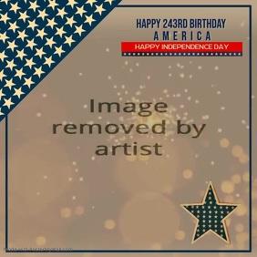 Happy 243rd America Video