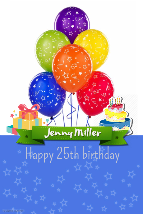 Customizable Design Templates for Happy Birthday | PosterMyWall