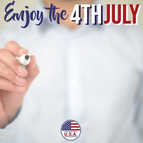 Happy 4th July Video Template