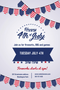 Customizable Design Templates for Independence Day | PosterMyWall