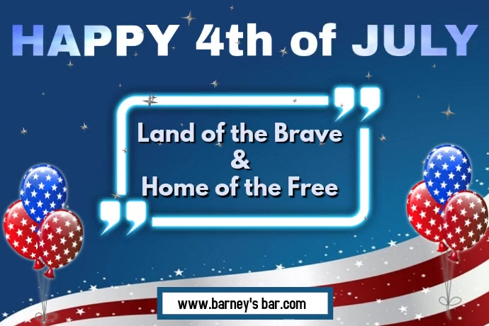 Happy 4th of July Poster template