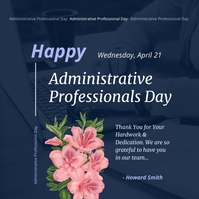 Happy Administrative Professionals Day Instag Сообщение Instagram template