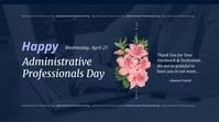Administrative Professionals Day Twitter Post template