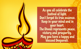 Happy and Blessed Diwali