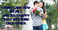 HAPPY AND FOUND QUOTE TEMPLATE Facebook Ad