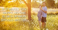 HAPPY AND OPINION QUOTE TEMPLATE Image partagée Facebook