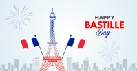 Happy Bastille day Facebook Shared Image template