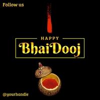 Happy Bhai Dooj 2020 Post Template