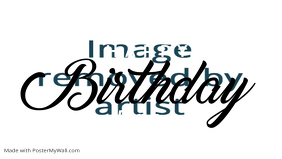 Happy Birthday Baby Poster Template