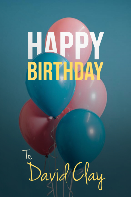 Happy Birthday Banner/Flyer