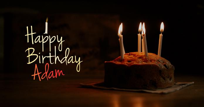 Happy Birthday Banner/Flyer Ibinahaging Larawan sa Facebook template