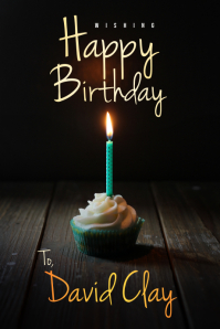 Happy Birthday Banner/Flyer Tumblr Graphic template