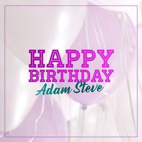 Happy Birthday Banner/VIDEO