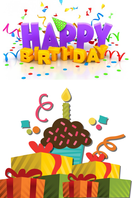 Happy Birthday Card · Customize Template