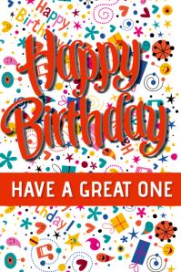 happy birthday cumpleaños Tumblr-Grafik template