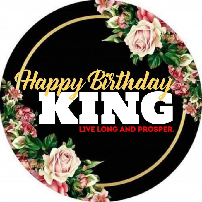 Happy birthday Logotipo template