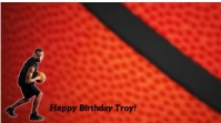 Happy Birthday Digitalanzeige (16:9) template