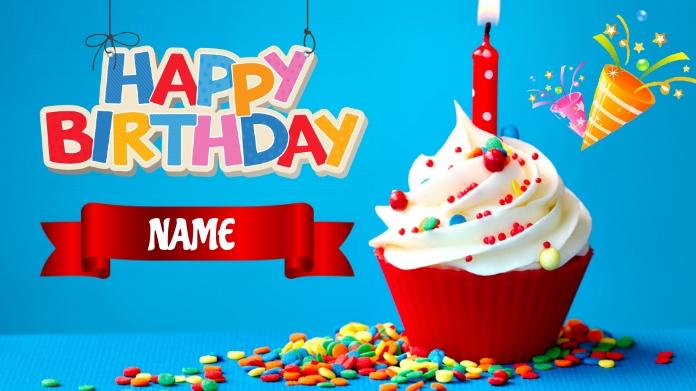 Happy Birthday Post sa Twitter template