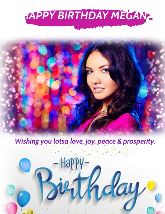 Copy Of Happy Birthday Postermywall