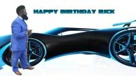 Happy birthday Tampilan Digital (16:9) template