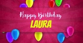 Happy Birthday Facebook Template