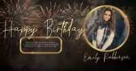 HAPPY BIRTHDAY facebook POST TEMPLATE