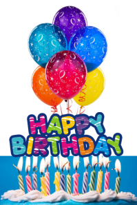 happy birthday flyer printable
