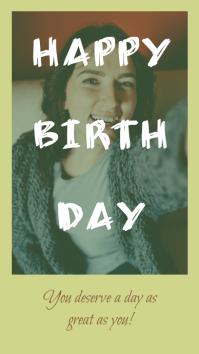 Happy Birthday - Insta Story