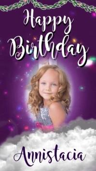 happy birthday instagram story template