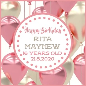 Customize 11 130 Happy Birthday Poster Templates Postermywall