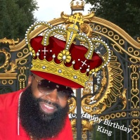 Happy Birthday King Instagram Post template