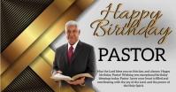 HAPPY BIRTHDAY PASTOR CHURCH DADDY TEMPLATE Imagen Compartida en Facebook